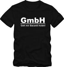 Trinker T-Shirt geh mir Bacardi holen   GmbHT- Shirt  bis 5 XL Funshirt