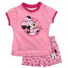 Completo corto neonata Disney Minnie rosa