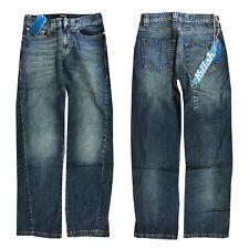 Killah Damen Jeans Hose Loose Fit Weit geschnitten Blau Gr. W24, W26, W28 8c070bc374