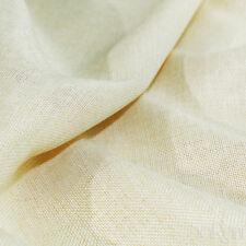 Tessuto LINONE Beige Al Taglio per Rivestimenti Divano Copritavola h.280 cm
