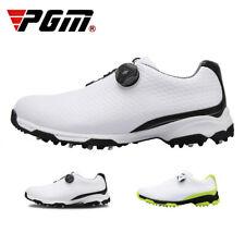 PGM Sports Golf Shoes Men Waterproof Non-Slip Rotating Buckle 3D Print Golf Shoe