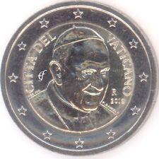 Vatikan alle 2 Euro Kursmünzen - alle Jahre wählen - Neu