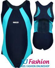 NEUF Costume de flotteur/Maillot bain En Marine/Turquoise BECO choix taille
