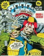 Best of 2000 AD MONTHLY # 14 (Judge Dredd & others) (Magazine, UK, 1986)
