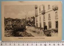 cartolina Sicilia terremoto di Messina rovine CC732