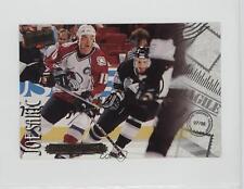 1997-98 Donruss Priority Postcards #9 Joe Sakic Colorado Avalanche Hockey Card