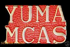 MCAS YUMA SCRIPT US MARINE CORPS AIR STATION PIN MARINES AV-8 HARRIER MAWTS WOW