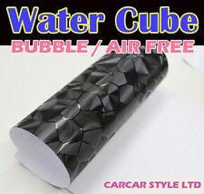 Agua Cubo Negro De 5 Metros X 0.75 Metro Wrap Vinilo aire libre de vehículos de la etiqueta engomada