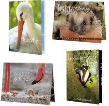 1 Postkartenbuch Tier Tiere VögelPostkartenbücher Ansichtskarte Postkarte