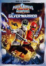 New: Power Rangers Super Megaforce: The Silver Warrior [DVD + Digital] Closed-ca