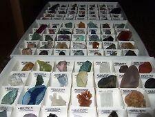- Minerali Grezzi Cristalloterapia - COLLEZIONE LOTTO 105pz (SGD-SGE-SGF)