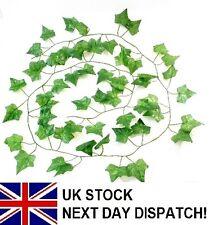 6ft Artificial Trailing IVY GARLAND GREEN Ivy Leaf Fern Foliage Plant