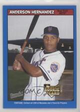 2006 Topps Bazooka Blue Fortunes #212 Anderson Hernandez New York Mets Card