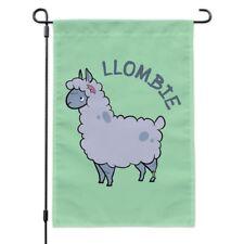 Llombie Llama Zombie Garden Yard Flag