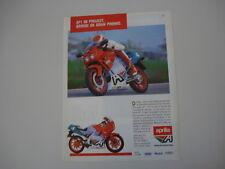 advertising Pubblicità 1989 APRILIA AF1 AF 1 50 PROJECT