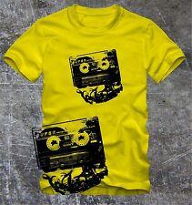 """T-Shirt  Tape Kassette DJ T-Shirt   """"Digitaler Direktdruck"""""""