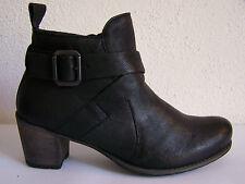 Think! Boots Modell Denga Stiefel schwarz rustic + THINK Papiertüte