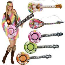 Aufblasbare LUFTGITARRE - BANJO UKULELE MANDOLINE - Hippie Gitarre aufblasbar