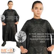 General Zod Boys Fancy Dress Kids Superman Villian Halloween Childs Costumr 3-8