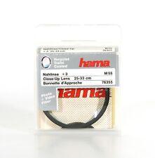 Hama nahlinse +3 Close Up Lens Ø 55mm Close Up Lens Macro lentille - (9237)