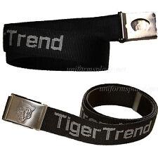 "Unisex Tiger Trend Web Belt with Bottle Opener Buckle 1.5"" x 46"" Belts Black"