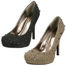 Ladies Anne MIchelle Platform Court 'Shoes'