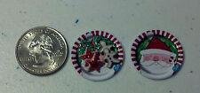 Dollhouse Miniature Christmas Cookies Gingerbread Set B 1:12 E10A Dollys Gallery