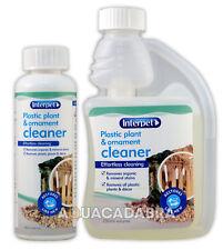 Interpet in Plastica Piante Ornamento & 100 ML 250 ML detergente per pulizia acquario vasca Arredamento