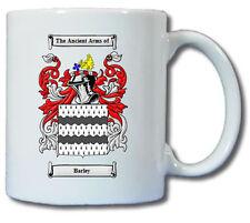 BARLEY COAT OF ARMS COFFEE MUG