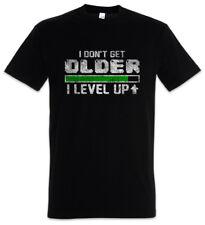 I DON'T GET OLDER I LEVEL UP T-SHIRT Fun Gamer Gaming Admin computer scientist
