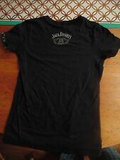 NEW womens Jack Daniels No 7 Brand Whiskey 2012 Sturgis Bike Rally T-Shirt Black