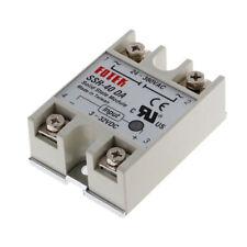 25A/40A/40DA SSR-25DA SSR-40DA SSR-40AA 250V Solid State Relay Module Heat Sink