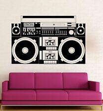 Wall Stickers Vinyl Decal Sound Recorder Music Night Club DJ Party (ig1821)