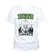GANG GREEN T SHIRT Hardcore Punk Rock Poison Idea Teen Idles Graphic Band Tee
