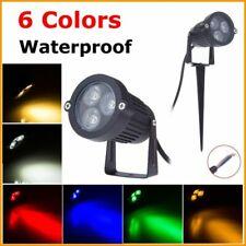 LED Garden Lawn Light Landscape Spike Lamp Waterproof Path Bulb Spot Outdoor