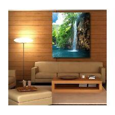 Tableaux toile déco rectangle cascade 52625641