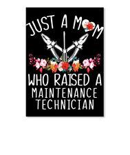 This Mom Raised A Maintenance Technician Sticker - Portrait