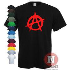 ANARCHY chaos punk retro Sex Pistols tribute t-shirt
