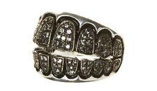 Designer Grill Gold Teeth Bling Ring Hip Hop Rap SWS of London Original Design