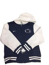 NCAA Nike Penn State Nittany Lions Hooded Zip Up Youth Sweatshirt Sports Jacket