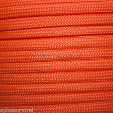 Neon Orange Paracord 50 Feet 550 lb 7 Strand Emergency Survival Bracelet
