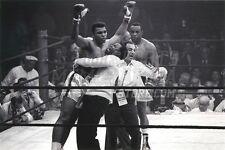 Muhammad Ali Sonny Liston fight victory  8x10 11x14 16x20 photo 533