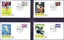 BRD 1998: Sporthilfe! FIDACOS-FDC der Nr 1968-1971 mit Bonner Stempeln! 1A! 1707