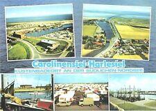 AK, Carolinensiel Harlesiel, 5 Abb, u.a. Luftbild, 1978