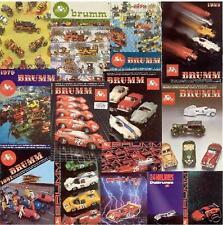 CD-Rom data-base della produzione BRUMM Autos 1/43                     aa
