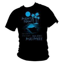 MANTA Point Maldive-TOP 10 siti di immersione immersioni subacquee da Uomo T-shirt