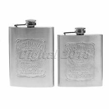 Simple Deisign Stainless Steel 7oz/8oz Flagon Wine Bottle Flask Mens Gift Home