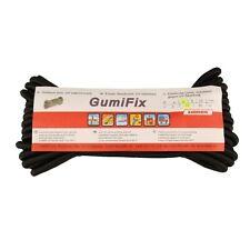 LANEX Gummischnur Gummikordel 3, 4, 6 oder 8 mm schwarz 10 mtr uv-beständig NEU
