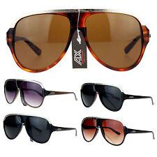 Mens Millionaire Hip Hop Luxury Metal Plate Plastic Racer Mob Aviator Sunglasses