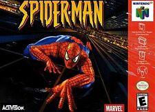 ***SPIDERMAN N64 NINTENDO 64 GAME COSMETIC WEAR~~~